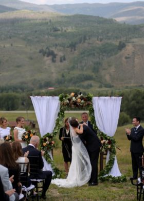Breckenridge wedding