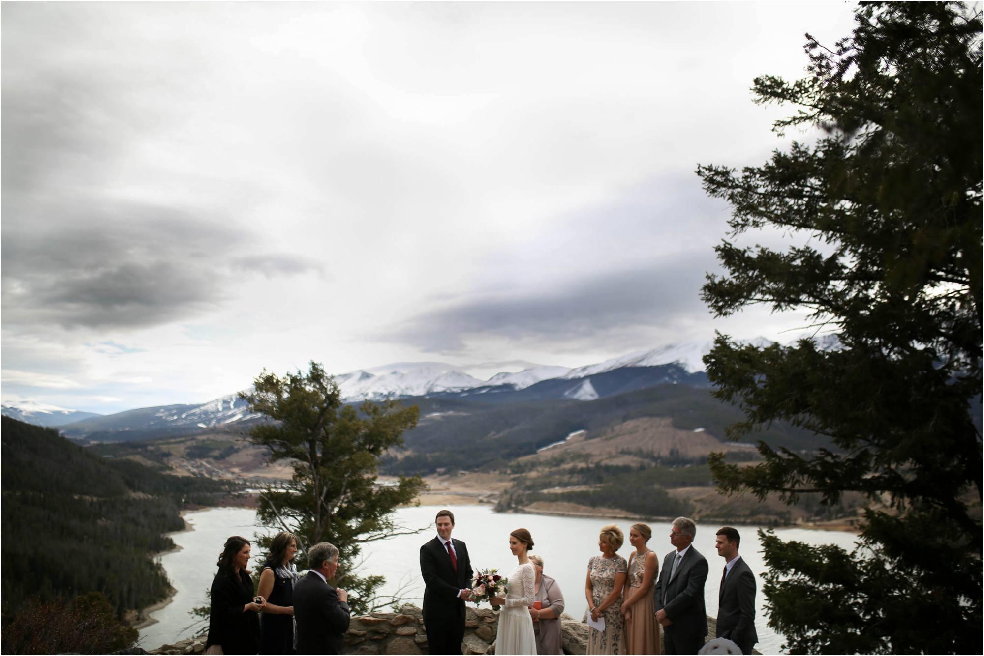 adventure elopement ceremony