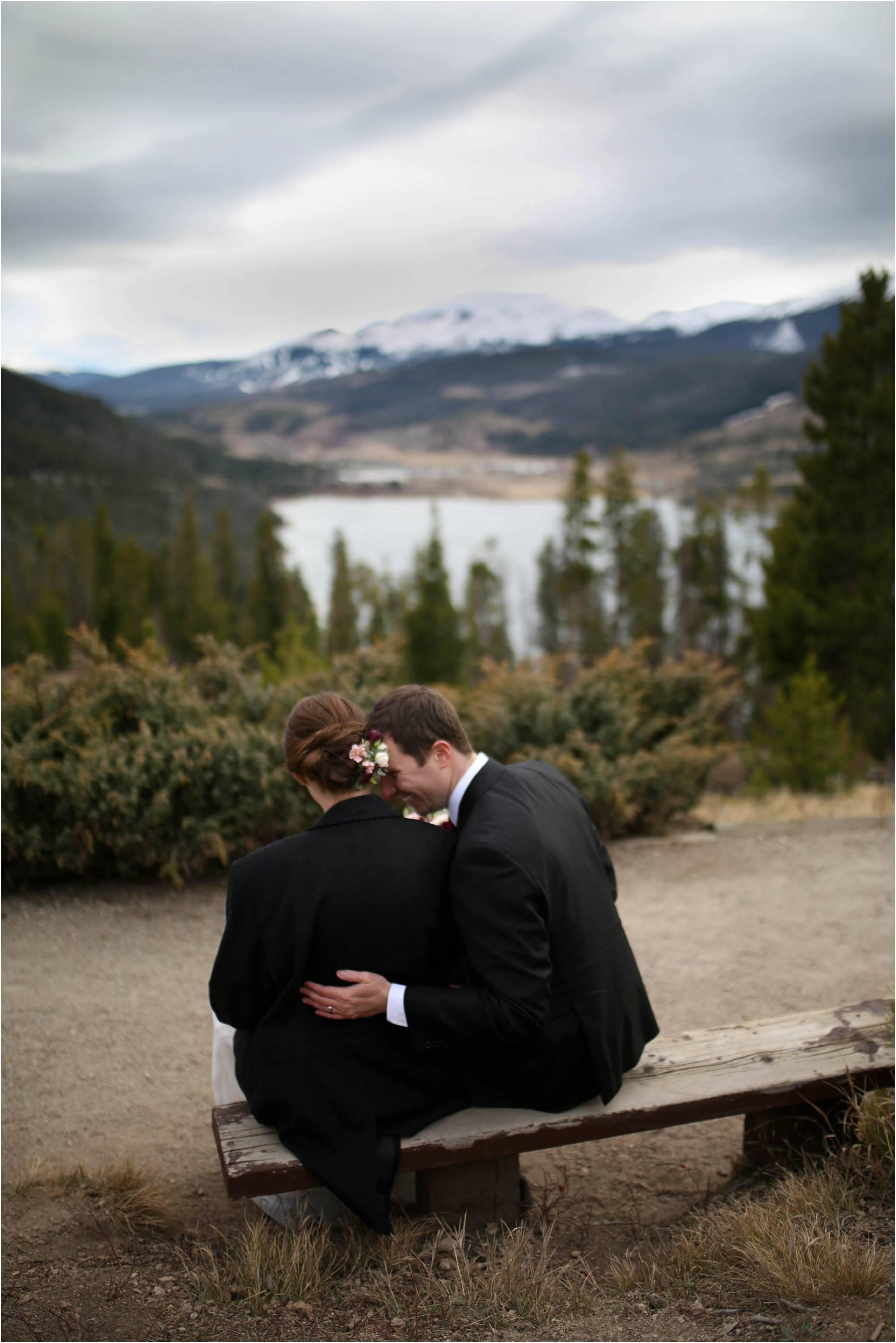 breckenridge wedding photo